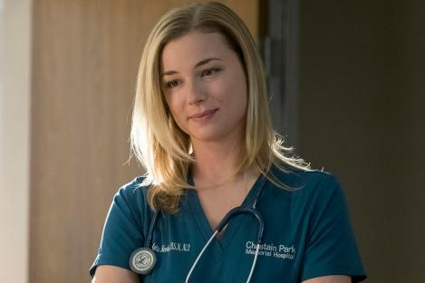 """THE RESIDENT: Emily VanCamp in the """"Elopement"""" episode of THE RESIDENT airing Monday, March 12 (9:00-10:00 PM ET/PT) on FOX. ©2018 Fox Broadcasting Co. Cr: Wilford Harewood/FOX"""